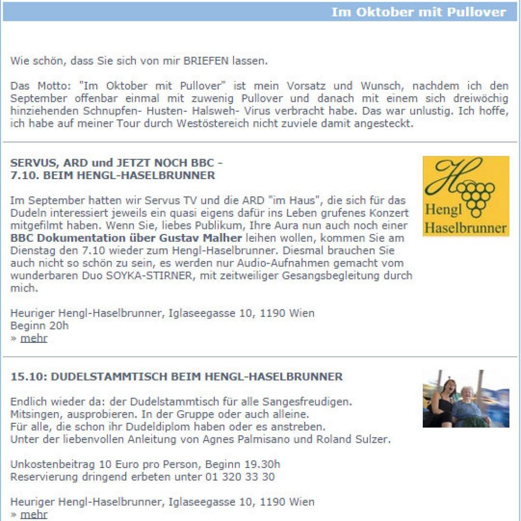 agnes newsletter
